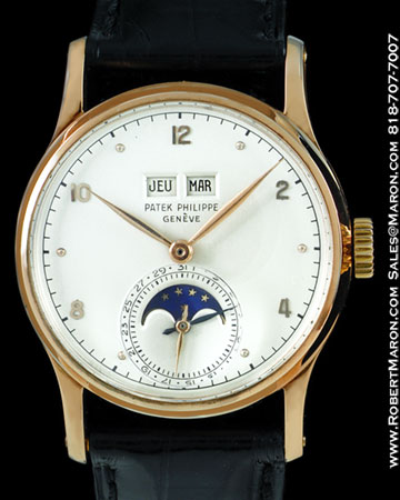 Watches kian 39 s cash for gold for Patek philippe moonphase